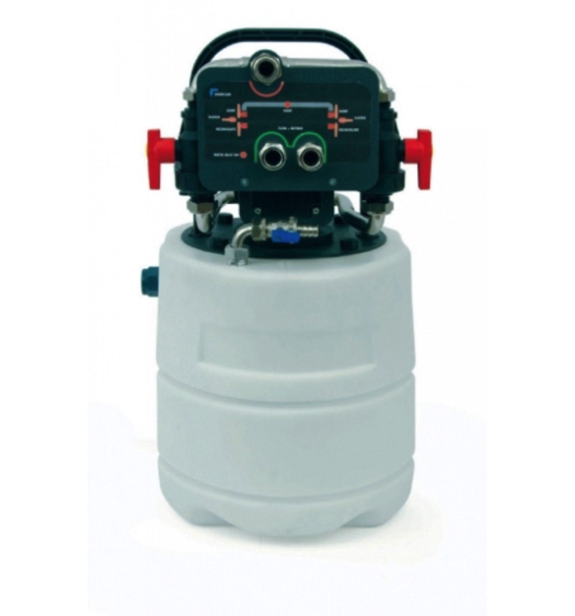 Power Flush Machine - The Leak Team